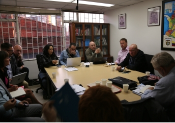 The delegation meets with representatives from three human rights organisations - The Permanent Committee for Human Rights (CPDH), The Interchurch Commission for Peace and Justice, and the Patriotic March