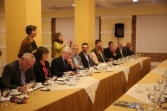 The delegation meets with recently elected members of the Colombian Congress
