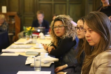 Meeting with FARC, civil society and government representatives from the gender oversight committee